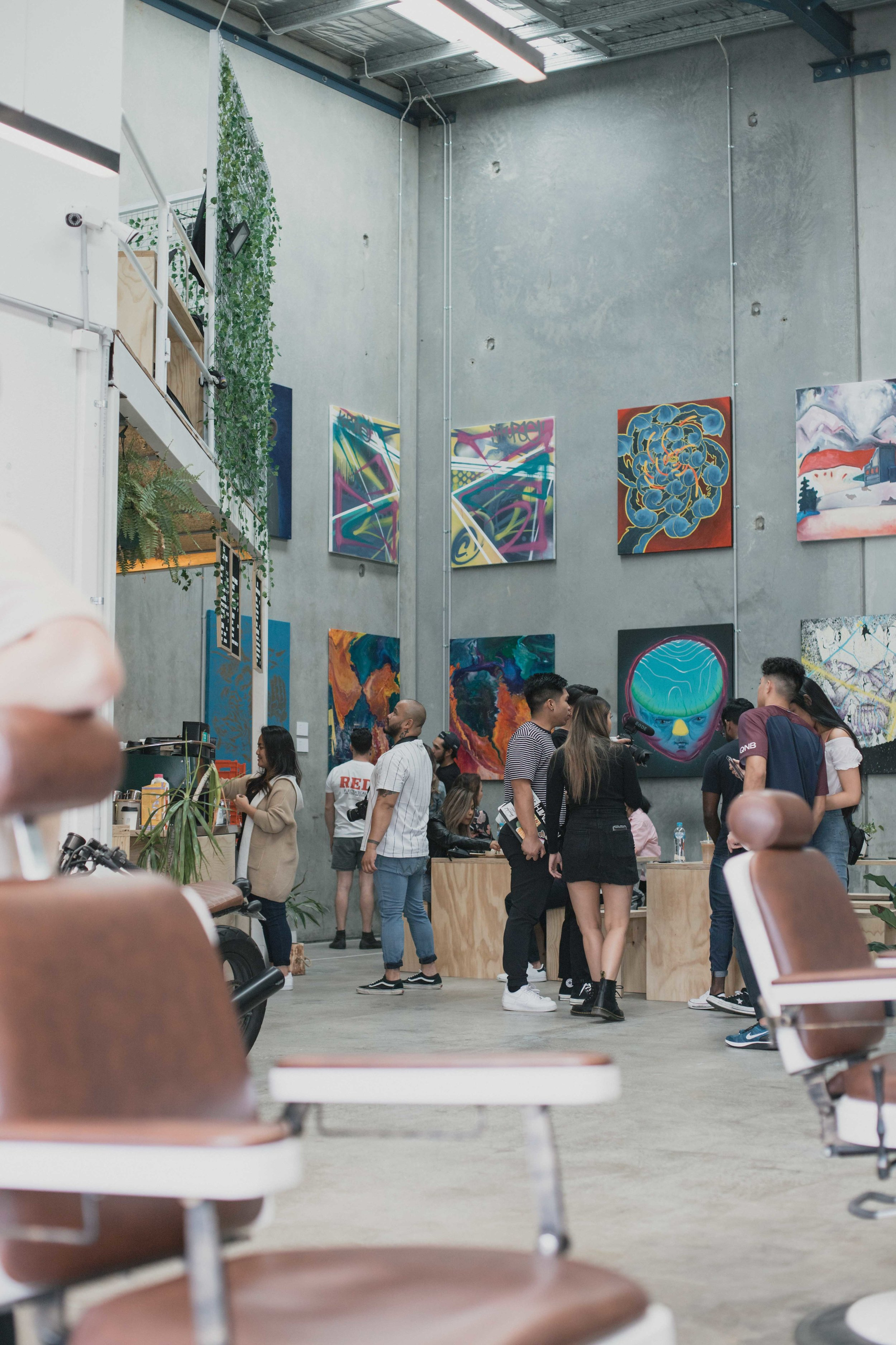 THE PALATE HAUS GALERY a cafe/art house, showcasing the creative mind of locals.