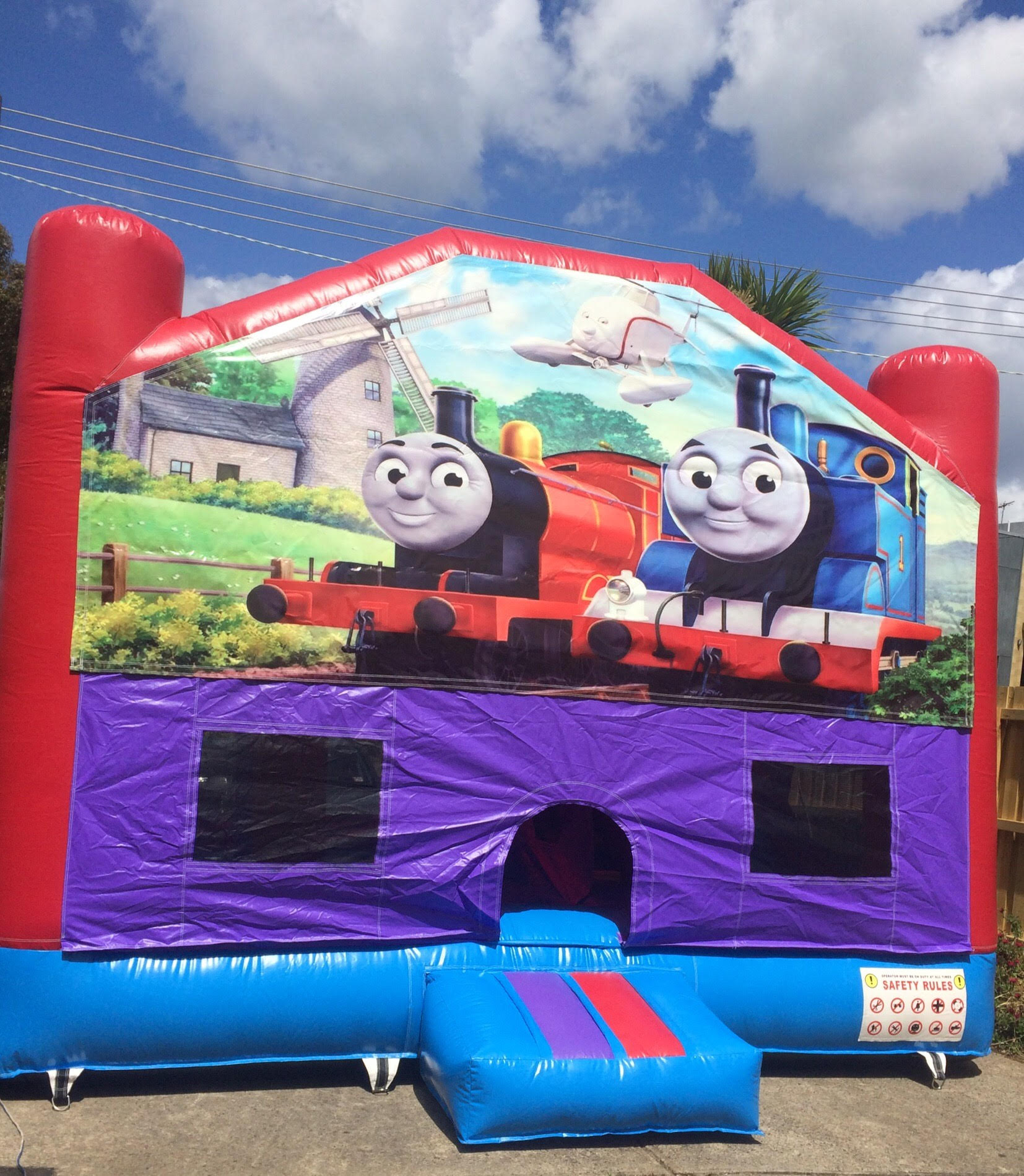 Thomas the Tank Engine 4 in 1 Combo
