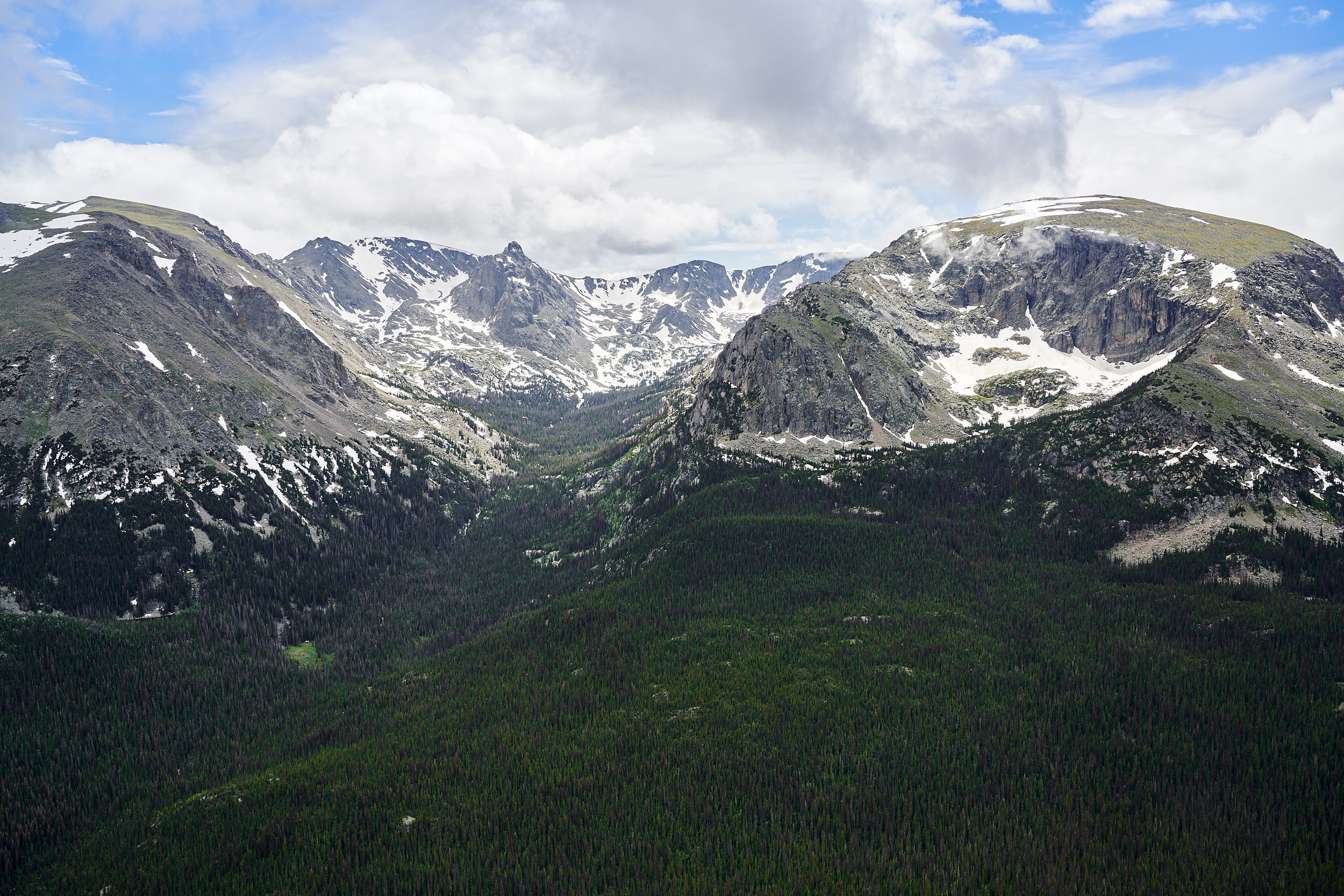The majestic Rocky Mountains