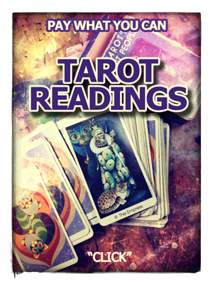 One card Pay What You Can Tarot Reading