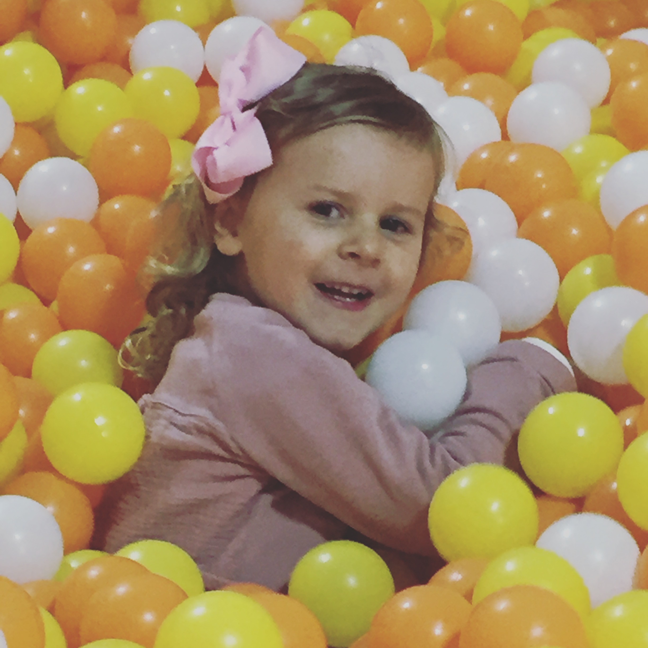 A ball pit could be a child's worst nightmare-others love it- and getting them out is the challenge!