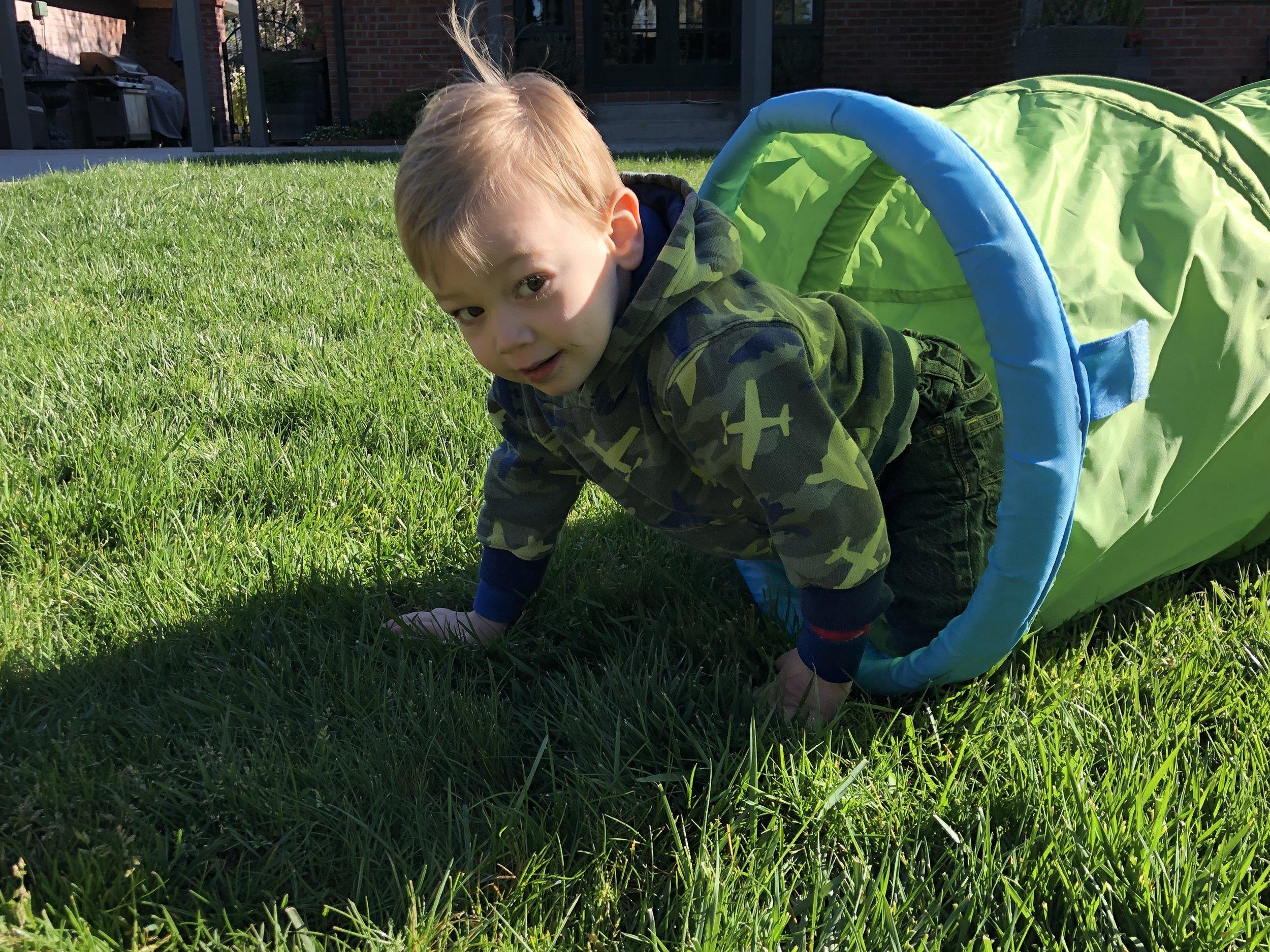 Keep kiddos crawling even beyond 1 year of age!