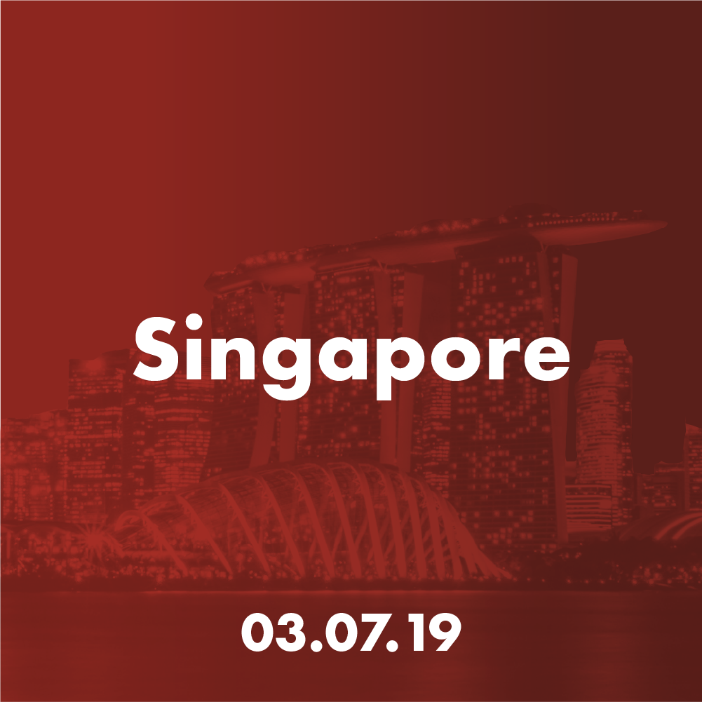 Singapore - Wed 3 July 2019Facebook APAC HQ, Singapore9 Straits View, Marina One, West TowerSingapore 018937Guest of Honour:Mr. Peter OngChairman, Enterprise Singapore