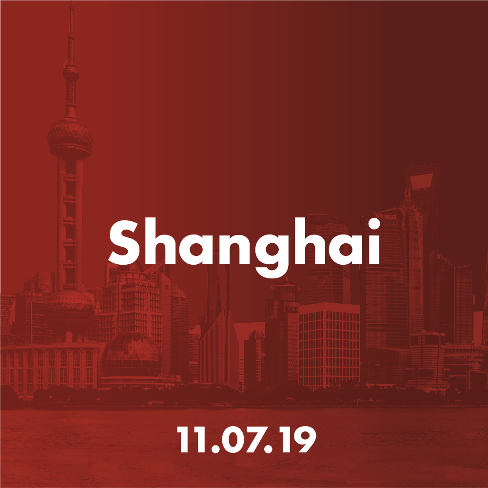 Shanghai - Thu 11 July 2019利程坊 EXPLORIUM, LiFung PlazaNo. 2000 Yishan Road, Minhang District, Shanghai上海市闵行区宜山路 2000 号利丰广场