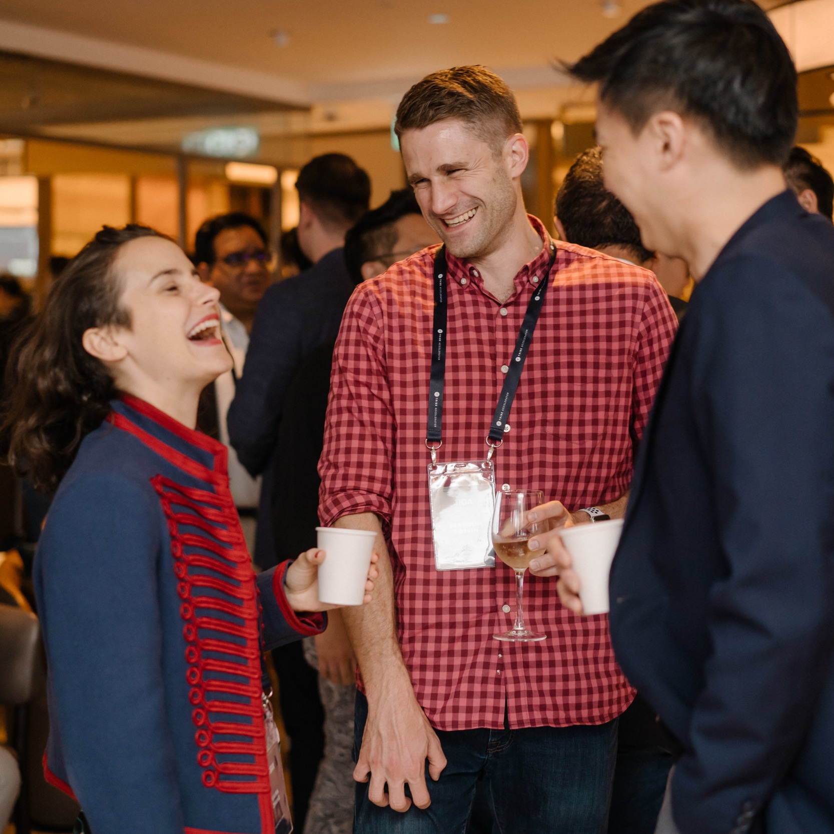 Networking Opportunities - Tribe Accelerator provides many opportunities for acceleratees to network with top-tier corporates and blockchain companies.Our Founders' Nights bring people together for thought leadership events in an intimate dinner setting to network, facilitating forward-thinking discussions with the start-up community.
