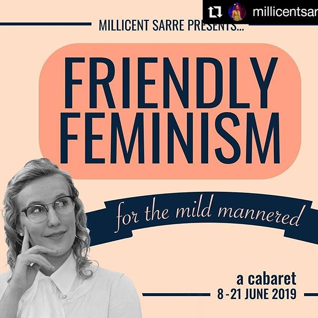 Check out @millicentsarre for event & ticket info and come see her in Friendly Feminism (for the mild mannered) Can't Wait! • #debut #originalcomposition #cabaret #singersongwriter #singer #livemusic #adelaide #southaustralia #performingarts