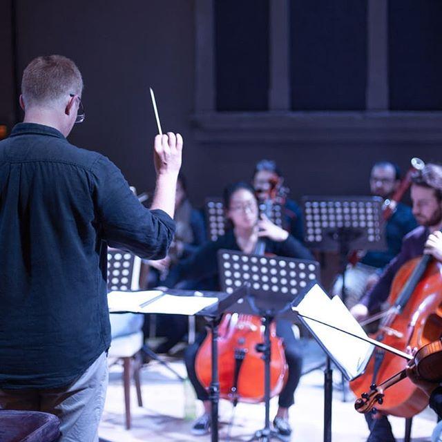 Rehearsals have begun for Union Hall's Umbrella Festival Concert 'Winter Symphony' link to tickets in bio • #orchestra #sibelius #symphony #honegger #winterescape #classicalmusic #chambermusic #chamberorchestra #musicmaking #finlandia