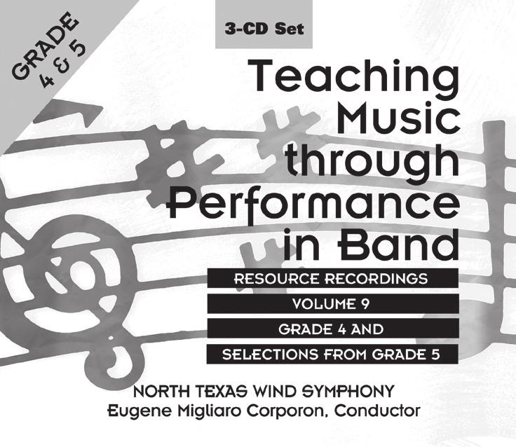 Teaching Music through Performance in Band Vol. 9