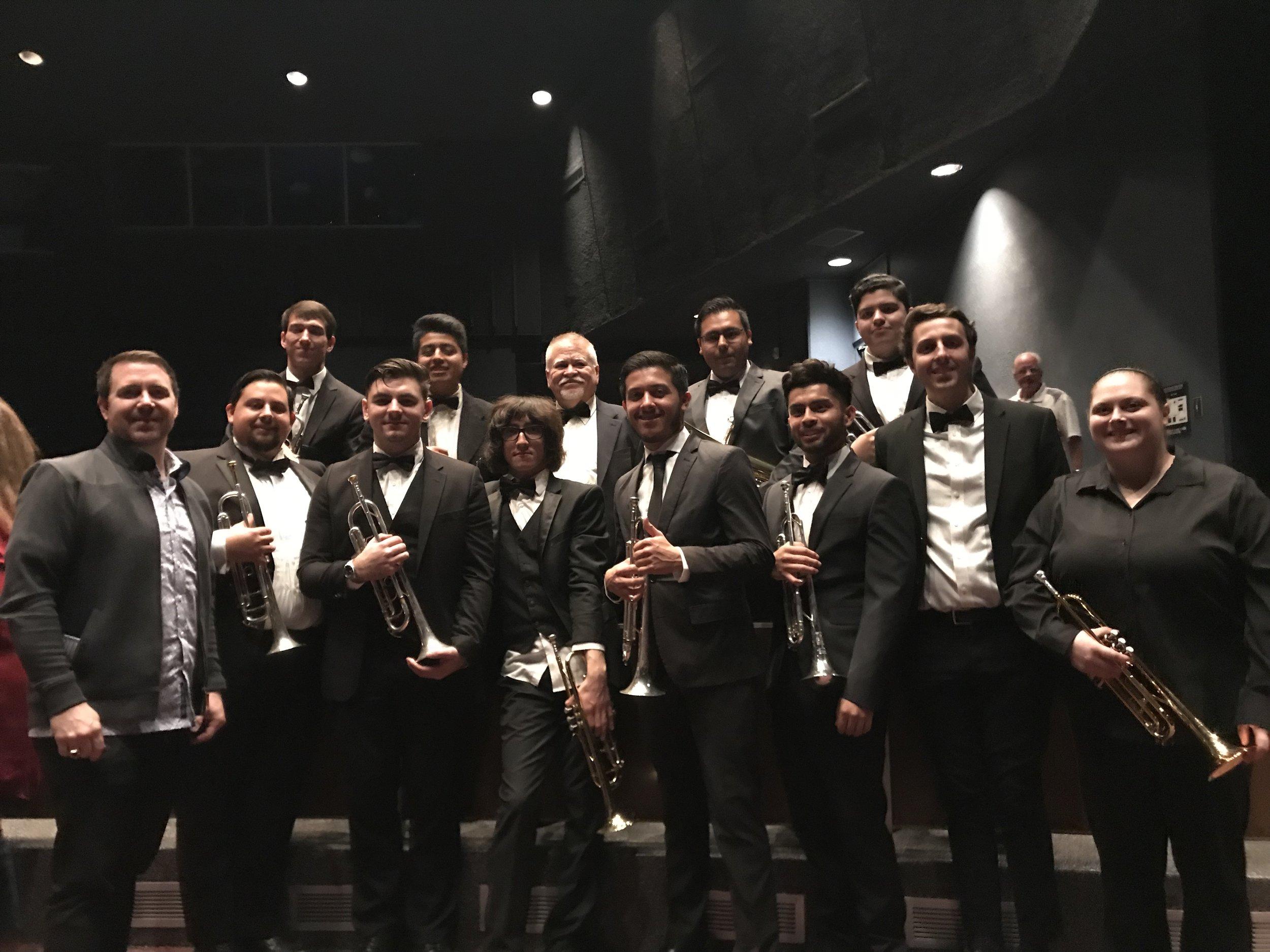 Fullteron Trumpet Studio Fall 2018