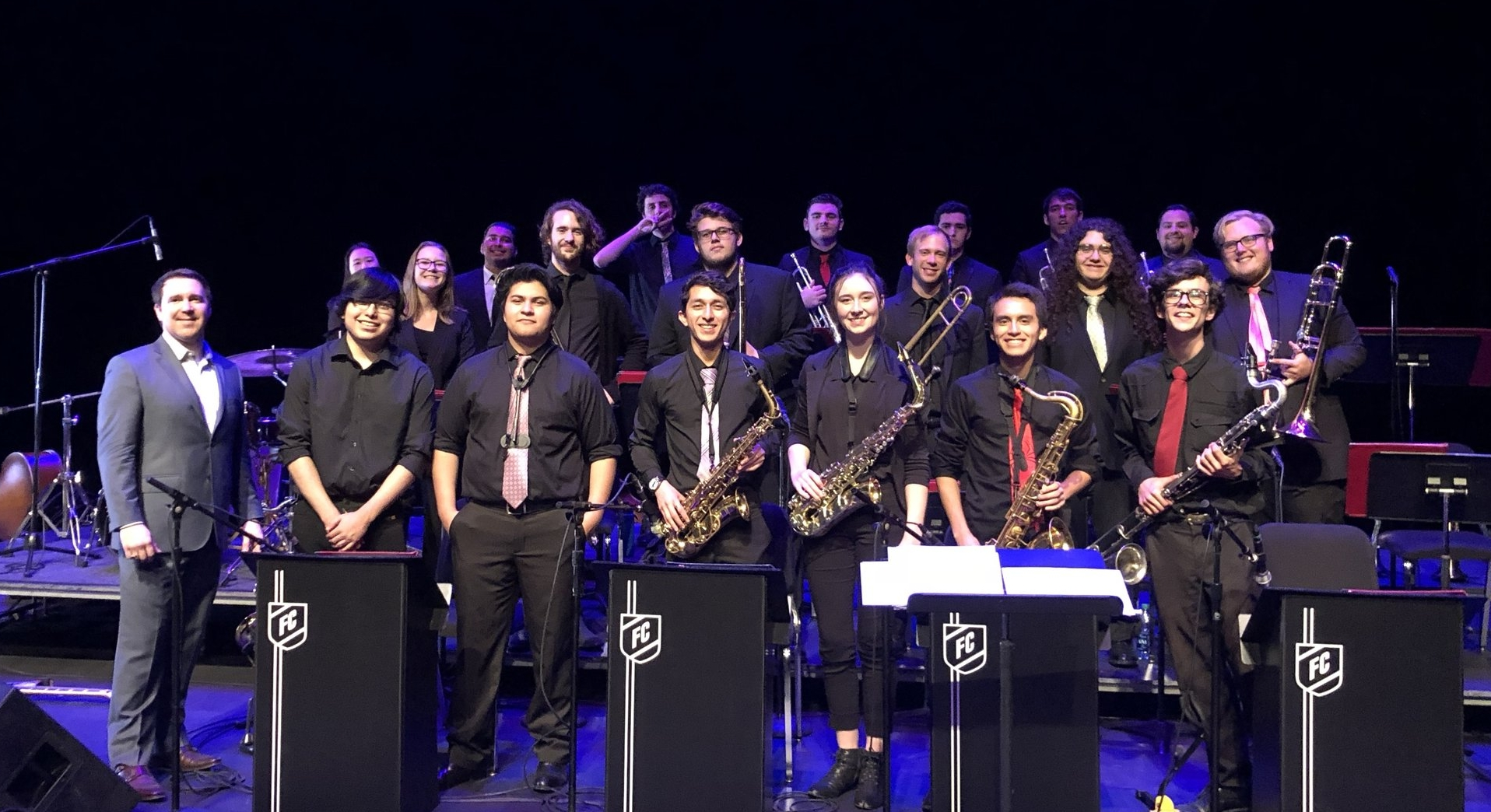 Fullerton College Lab Band Fall 2018