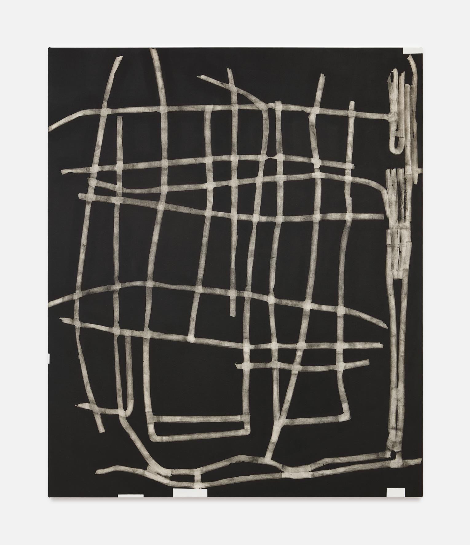 Dusty K I | 2018 | Öl und Acryl auf Leinwand | 180 x 150 cm | ©GALERIE ALBER