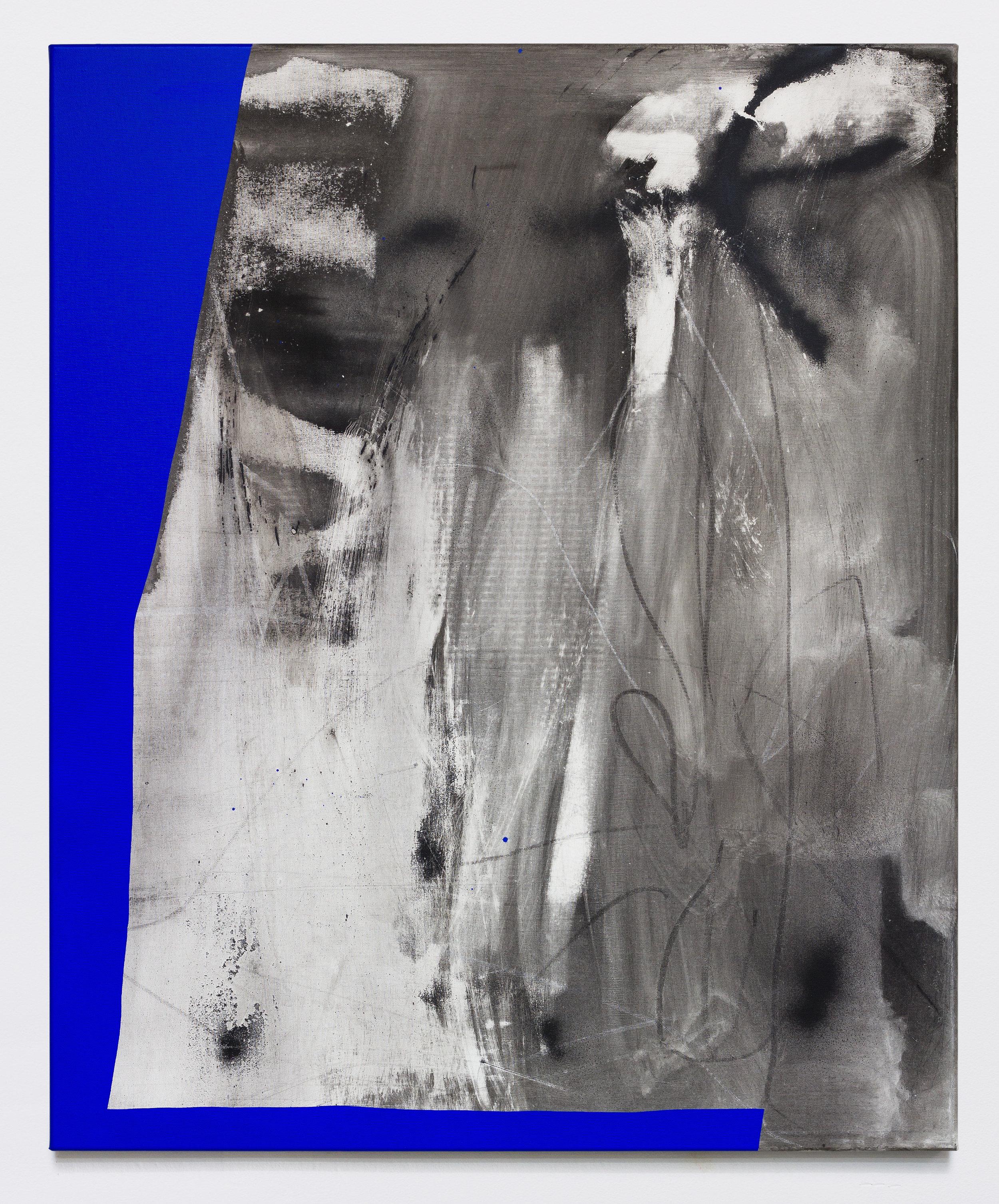 White Tinnitus | Acryl auf Leinwand | 90 x 110cm | 2019 | ©GALERIE ALBER