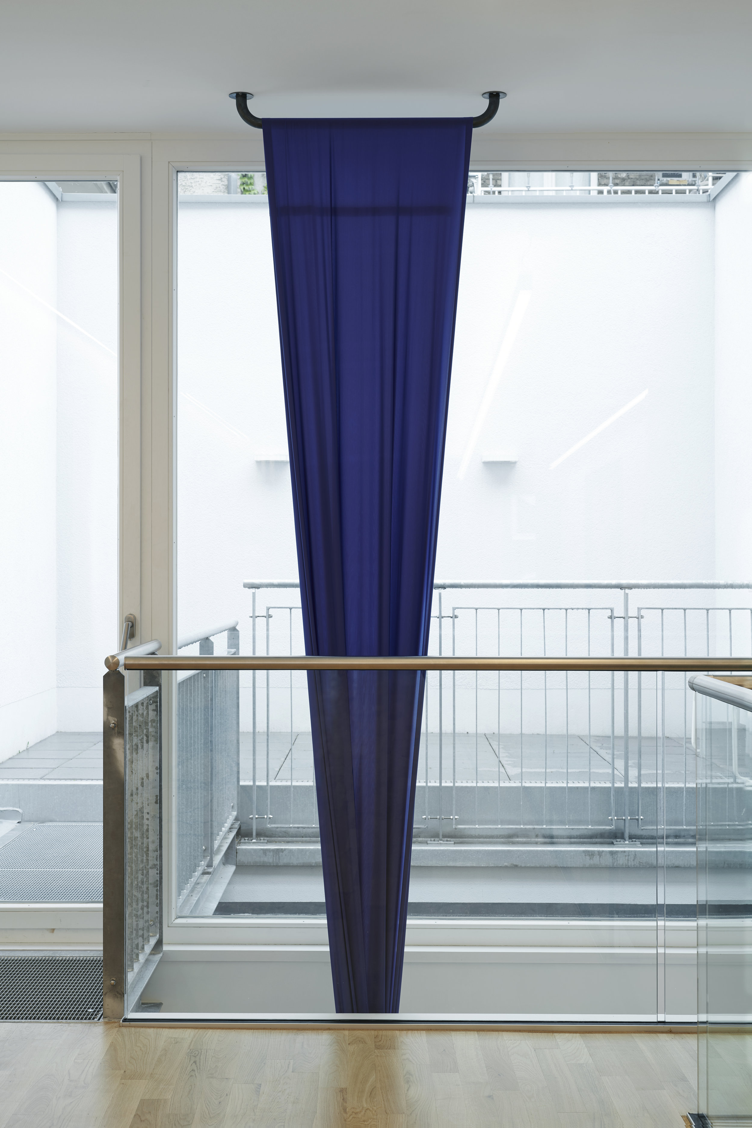 o. T. | Textil, Stahl | Maße variabel | 2019 | @GALERIE ALBER