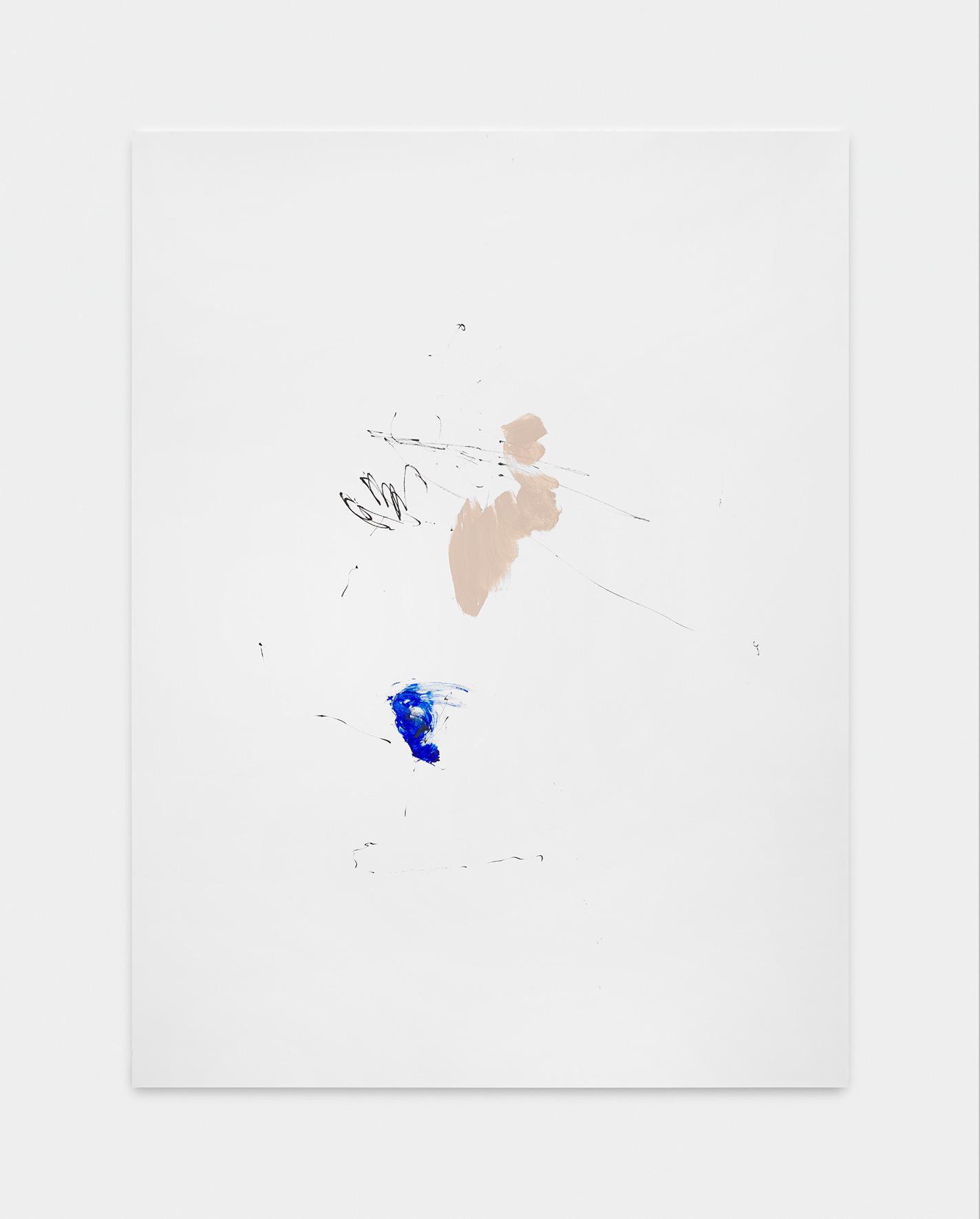181220 | 2018 | Acryl, Lack, Tusche auf Leinwand | 200 x 150cm | ©GALERIE ALBER