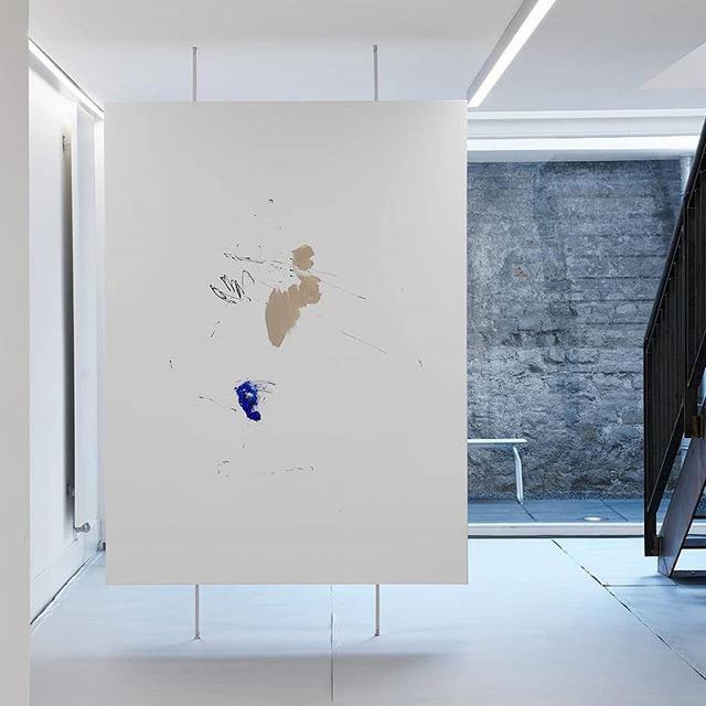 There are two sides to the downstairs exhibition installation of INTERMOTION and many more in Michaela Zimmer's work.