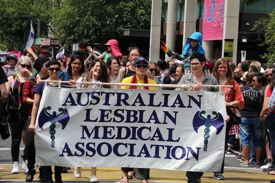 - 'ALMAs showing PRIDE in Melbourne