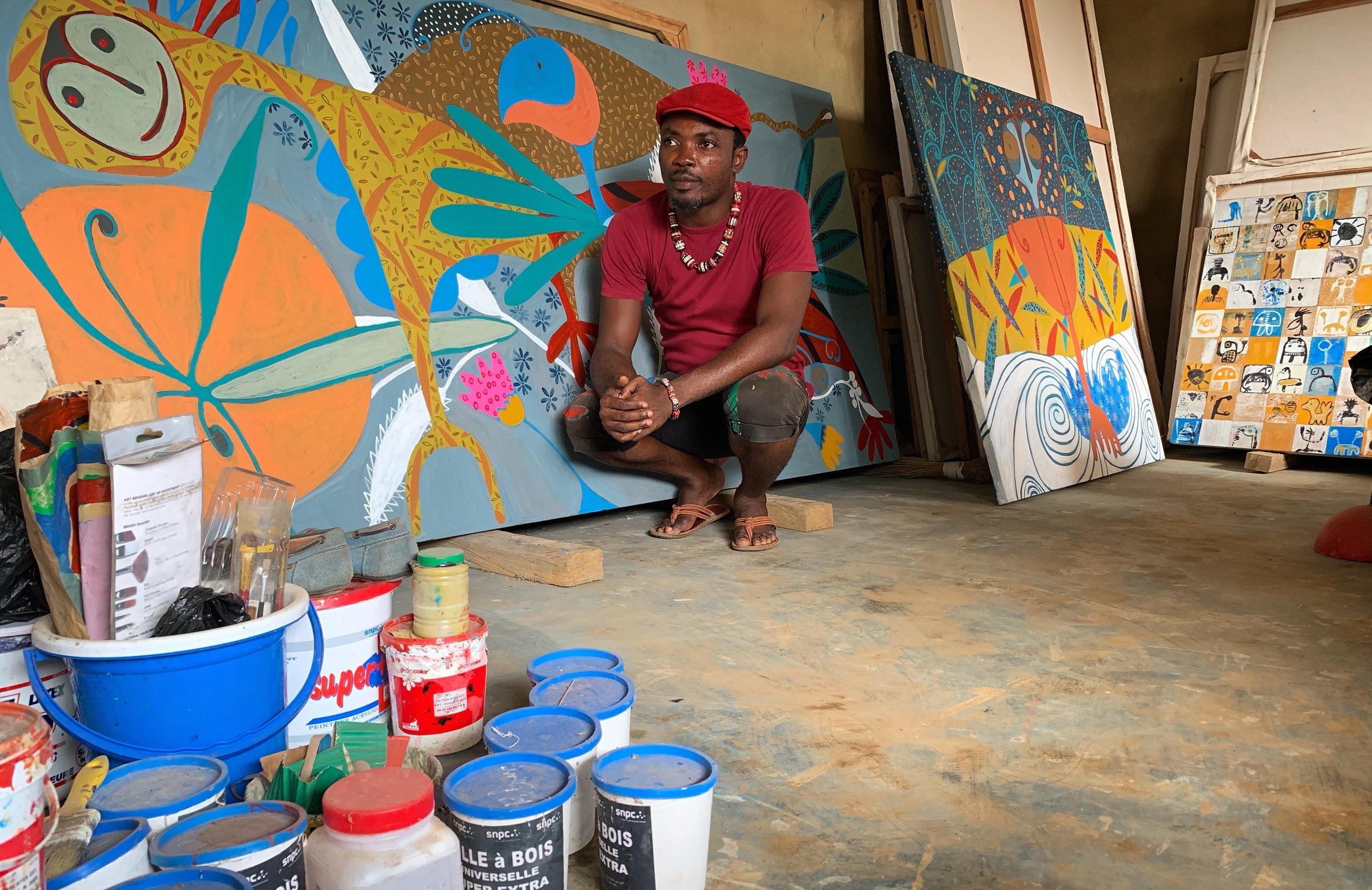 MÉNÉ À WASHINGTON - Méné désormais aux USA chez notre consoeur African Art Beats.