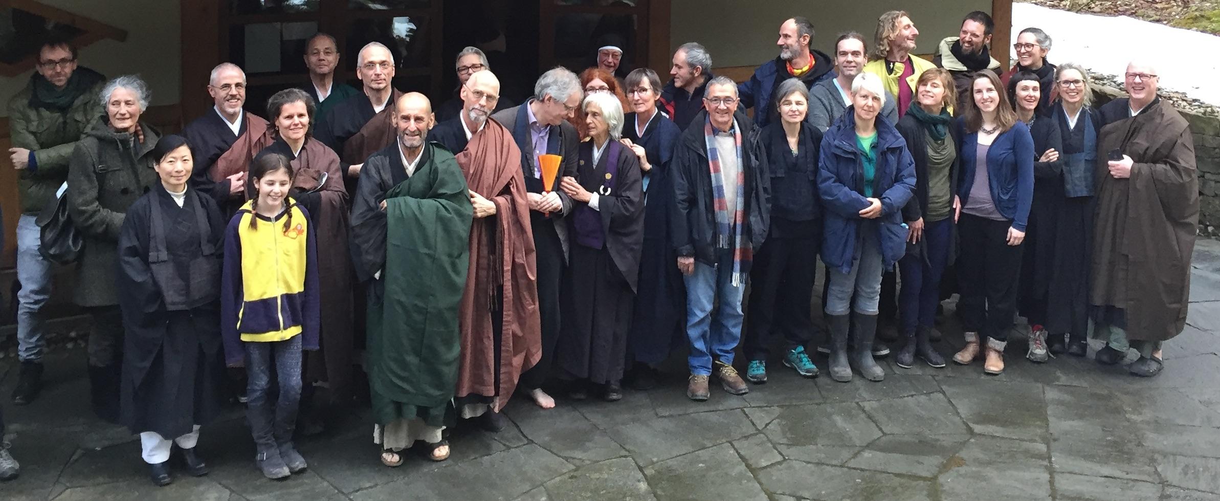 Gruppenfoto vom Abschluss der Praxisperiode 2018