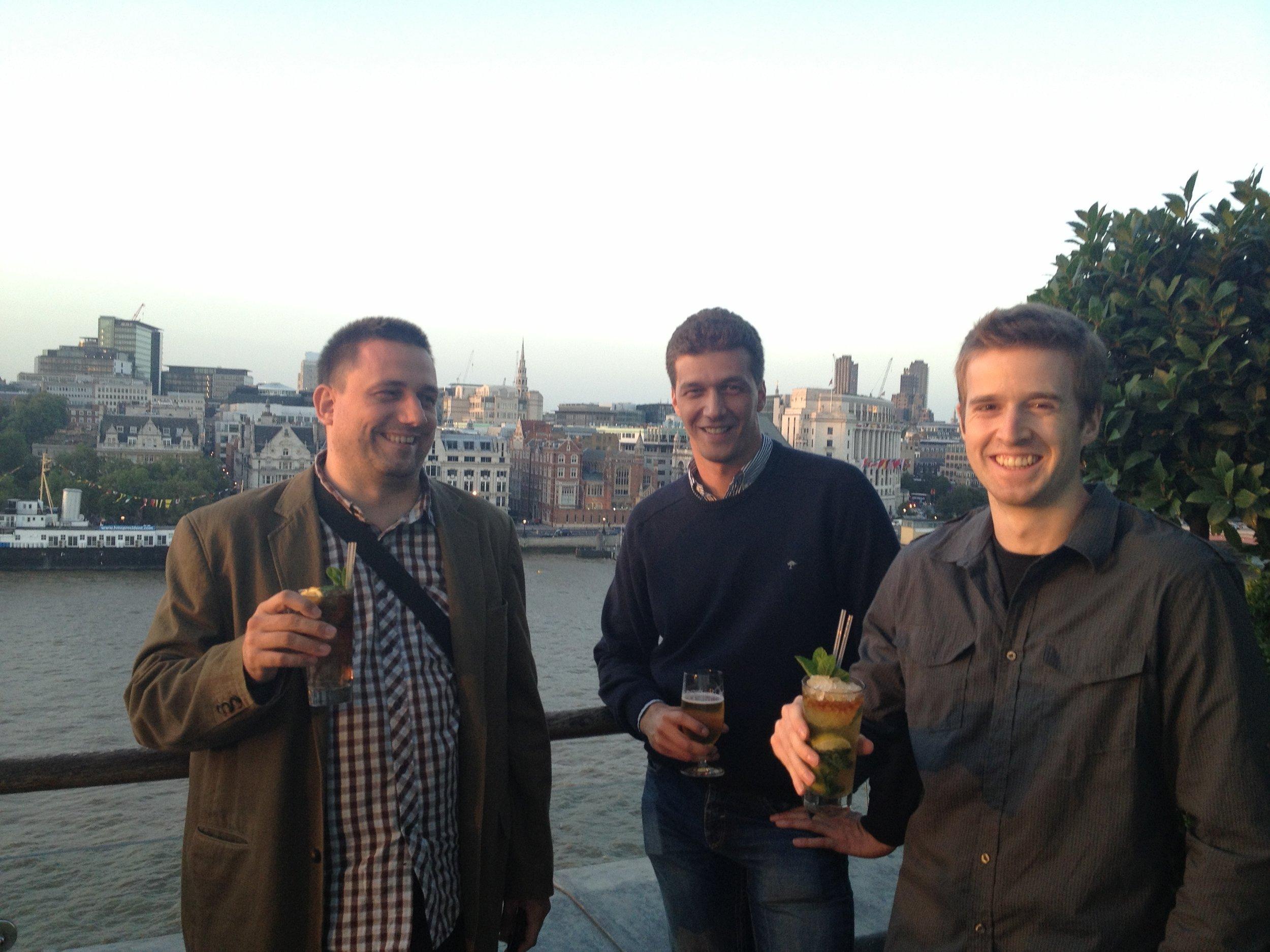 Beta launch, in London