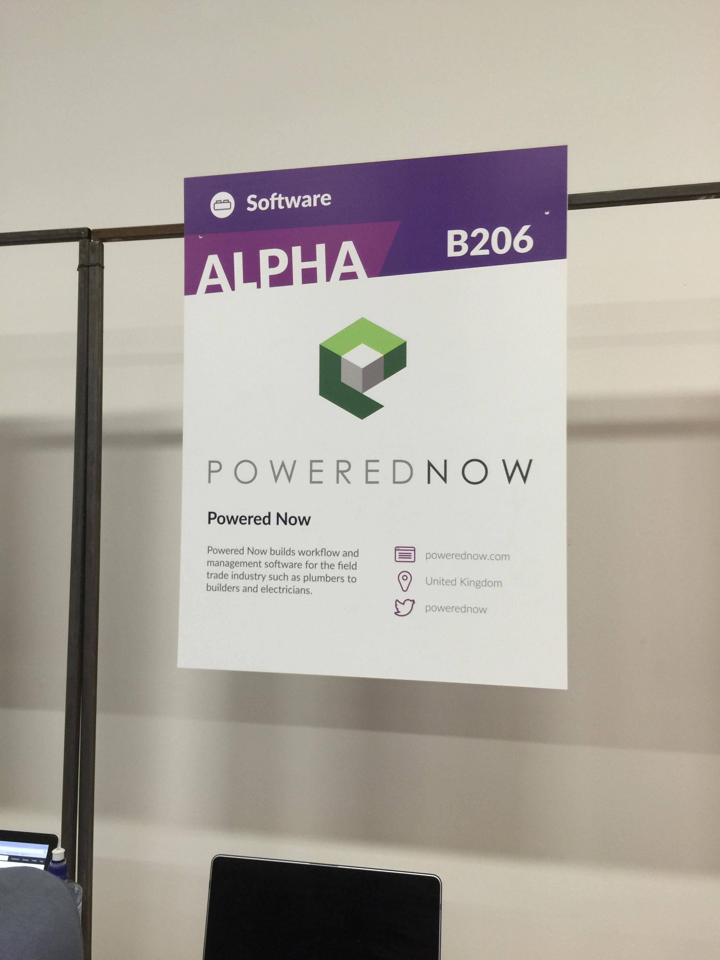 Exhibiting at the Web Summit, Dublin 2016