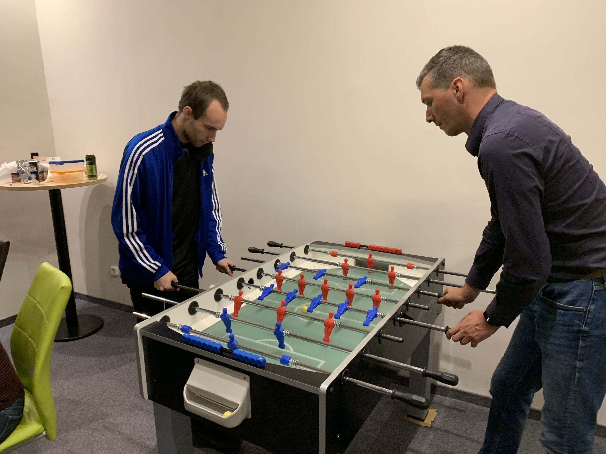 Table football is life in Budapest