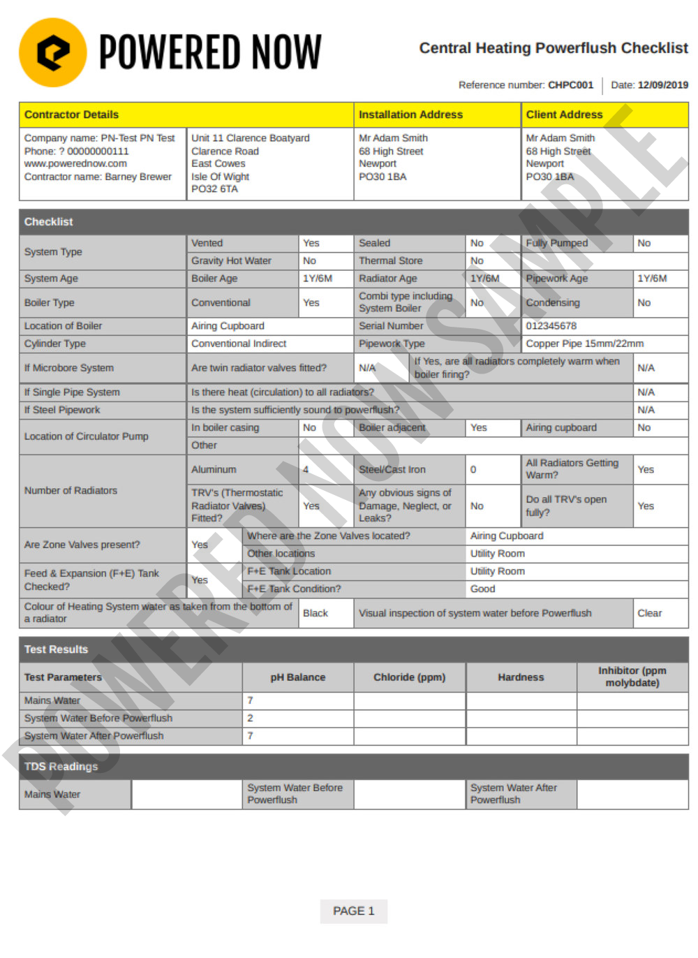 central heating powerflush checklist gas safe pad 28.png