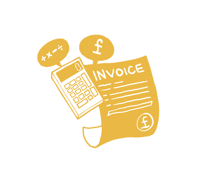 <p><strong>Invoice & Quote</strong>Create great looking Invoices, Quotes & Estimates quickly and easily.<a href=invoicing>More →</a></p>