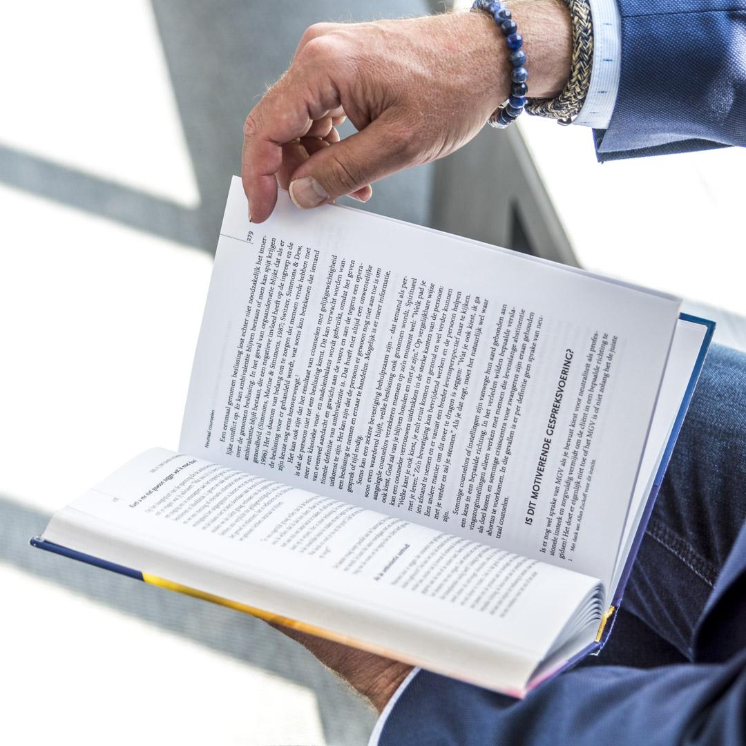 boek Rob d'Hondt Training coaching ontwikkeling Motiverende gespreksvoering
