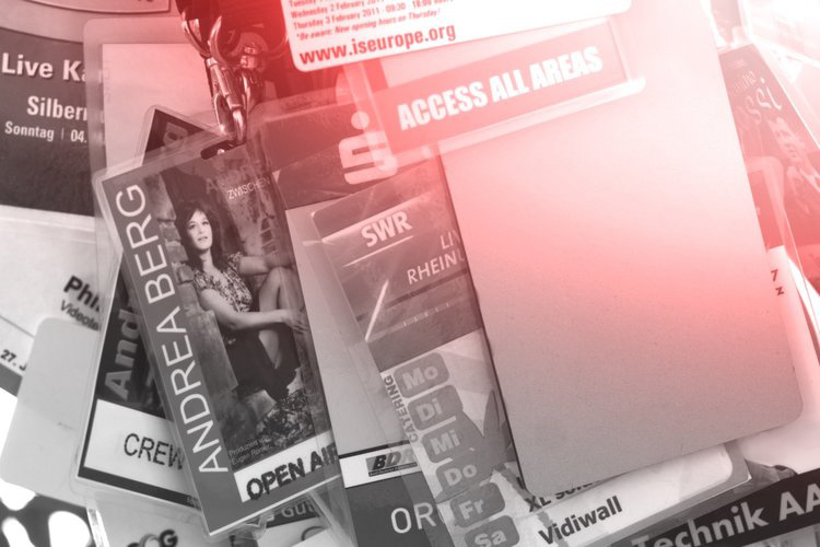 Access All Areas Pässe unserer Live-Events