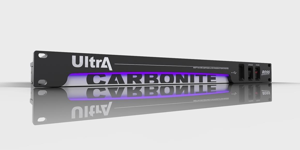 ROSS Carbonite Ultra Engine und Console Carbonite Black 2-2ME