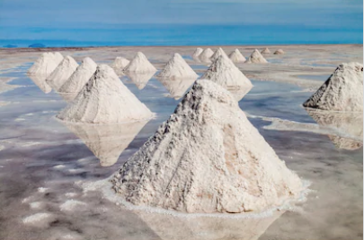 Manaure, the largest salt complex in colombia