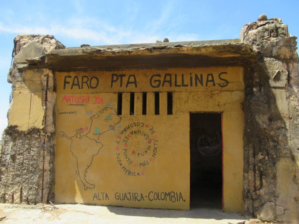 El Faro, Punta Gallinas
