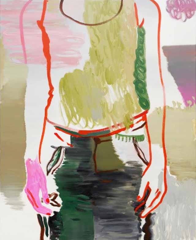 Françoise Pétrovitch, Ohne Titel, 2017, 160x130 cm, Öl auf Leinwand