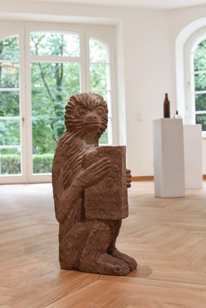 """Stefan Rinck, """"Gibbons don´t have good press"""" , 2015, Sandstein"""