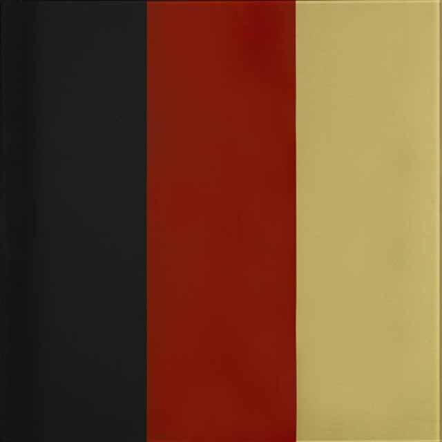 Gerhard Richter, Edition Schwarz-Rot-Gold III, 1999, 36,0 x 36,0 cm, Kunstharzfarbe hinter Glas, Edition 109 + 2 AP