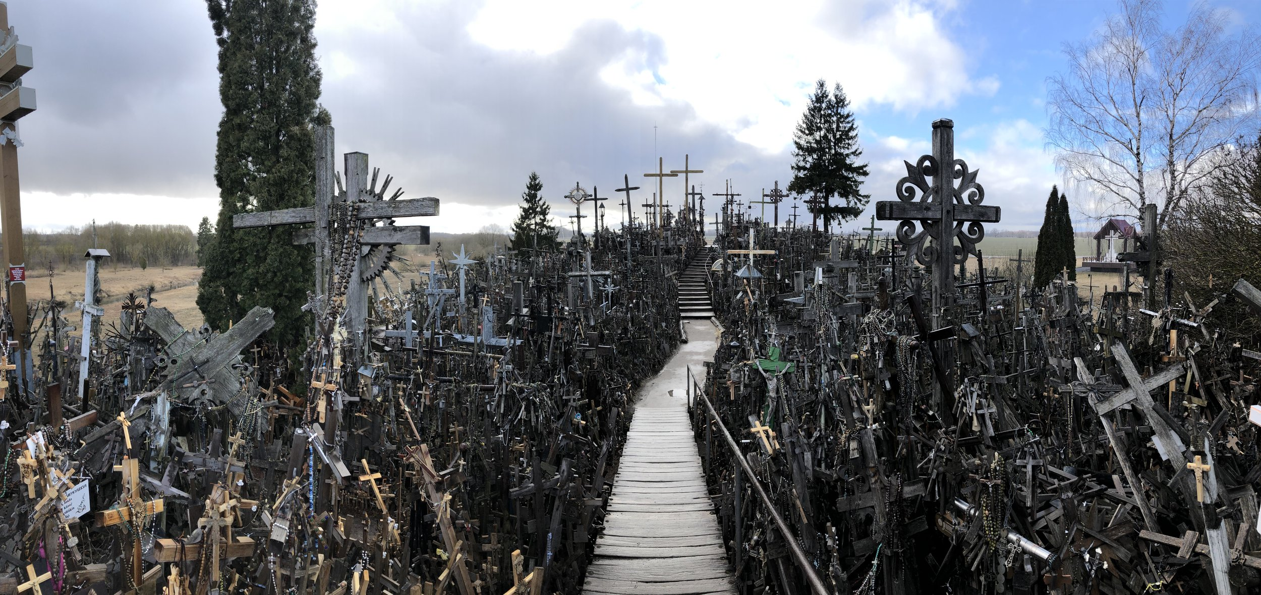 Hill of Crosses, near Siauliai