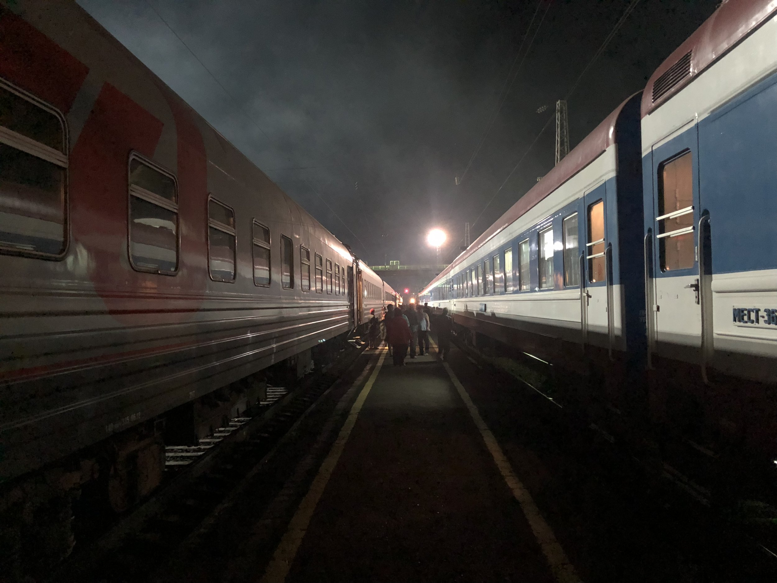 On the way to Irkutsk