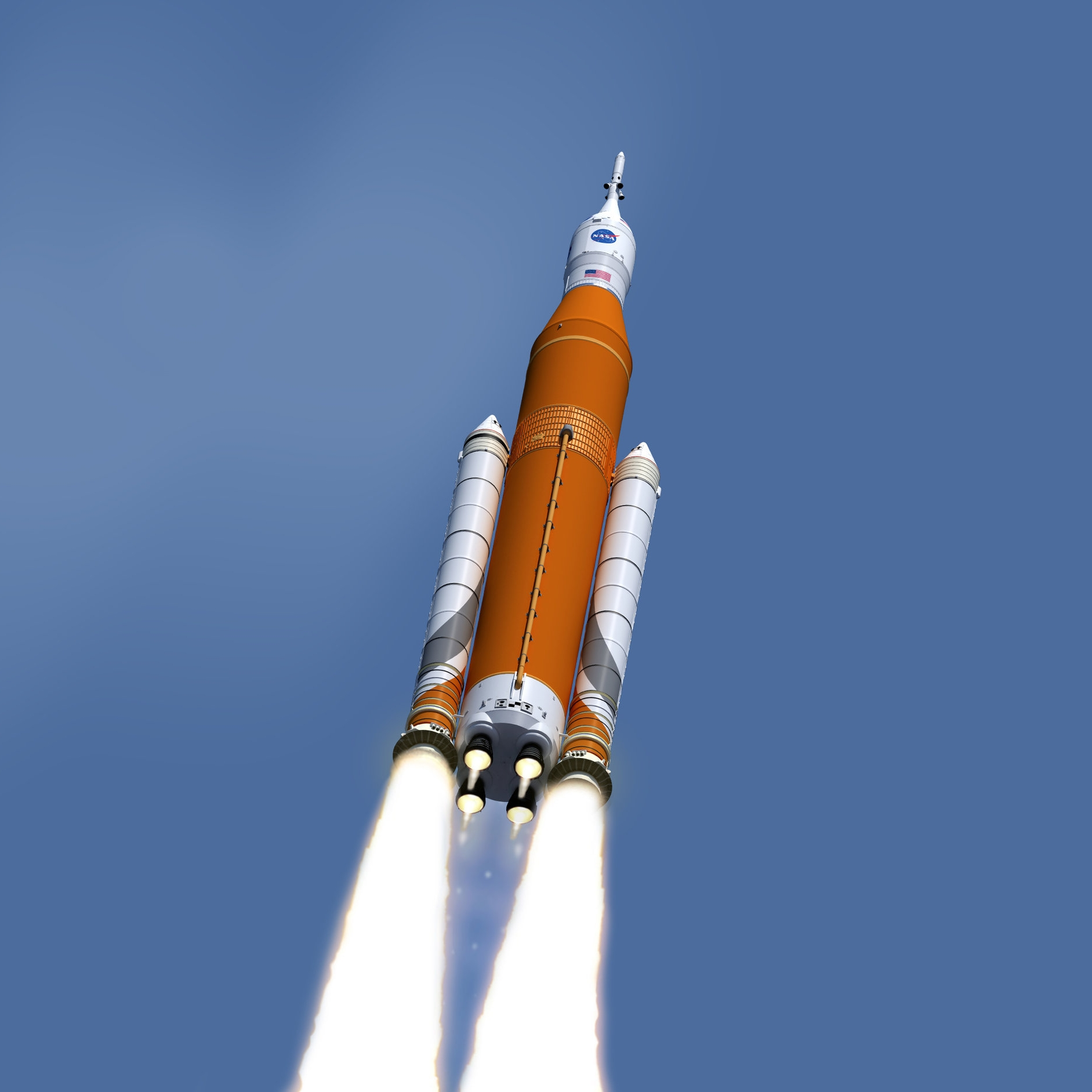 NASA's SLS - Now this is one big rocket, long time in development and extremely expensive… and counting!Height: 365 feet tallThrust: 9.2 million pounds (51 Boeings)Payload: 286,000 lbs (30 elephants)Cost of each launch: $500 million