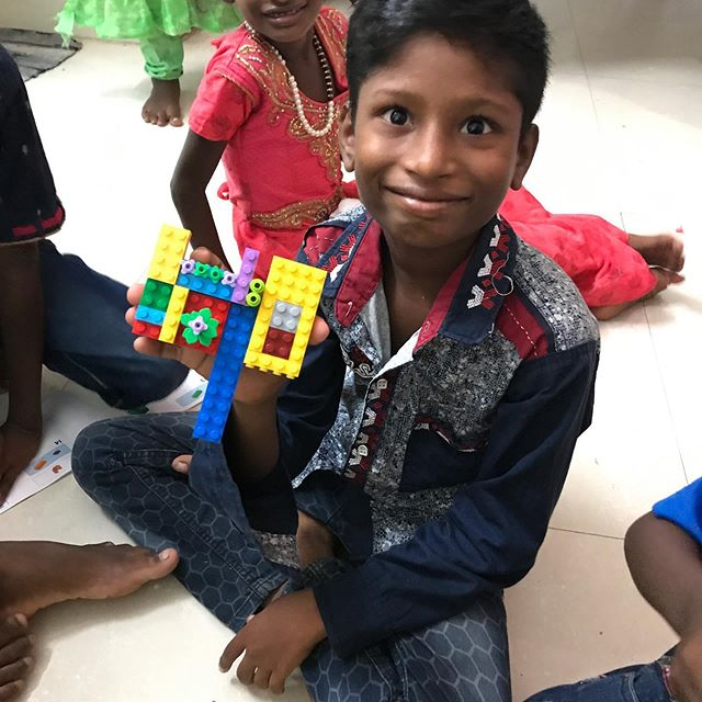 "Jet Lag Diaries - LEGO Update #2: We also gave the LEGOs that YOU sent with us to these special kiddos! The instruction books were perfect - no words, just pictures! They immediately opened them up and started building! -  A big NANDRI (thank you in Tamil) to everyone who donated LEGOs to the children at the orphanage and here in Chennai! It has been incredible to watch the powerful creativity and wonder that come through the ""language"" of LEGO! You didn't just give toys - you're giving them the world! ❤️🌏💪🏽 -  #shehopes #hope #lego #education #myeverydaymagic #createdaily #bethechange #buildingafuture #handsandhustle #possibility #legos"