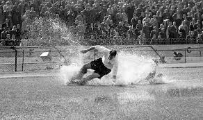 SIr Tom Finney - aqua planing down the right wing
