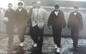 Sir Stanley Matthews - visiting Port Vale