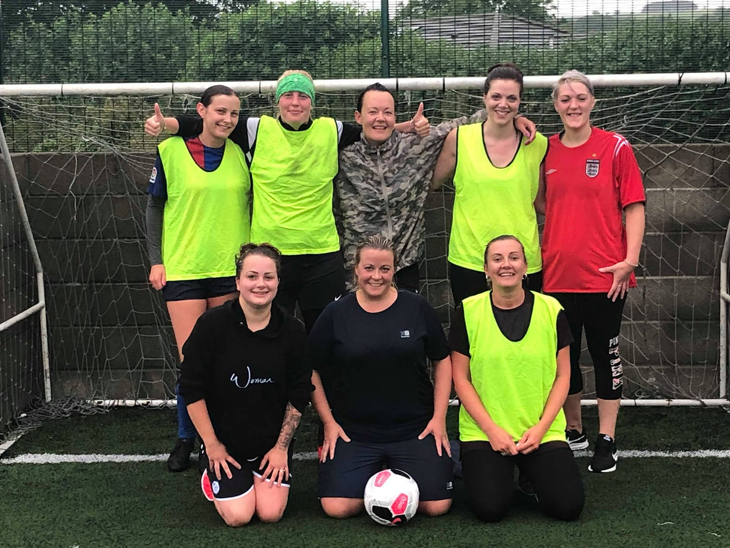 PCFC's Womens Kick-About Football Kicks Off - On a very rainy afternoon 8 intrepid women joined our very first Football Kick-About. The interest in fthis un activity is enormous with over 40 women already in the Facebook group.Why not pop down to join in the fun and fitness through football? The Women's Kick-About is held every Sunday Afternoon 4pm £5 per session for all ages and abilities.Interested then click here for more details