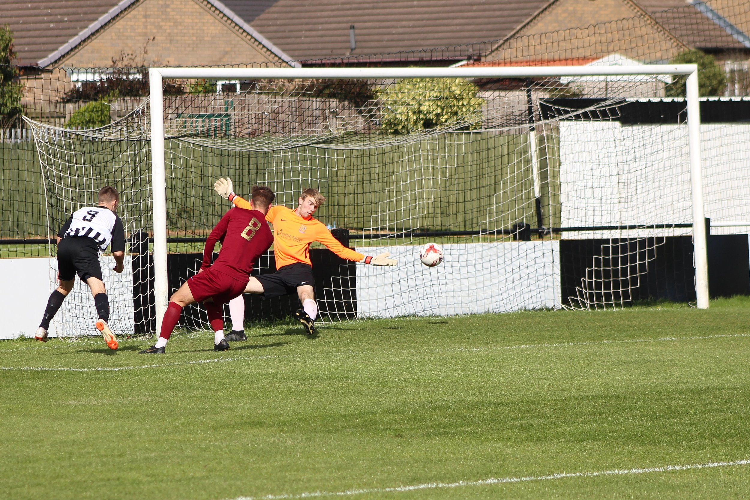 Nathan Keightley scores the second