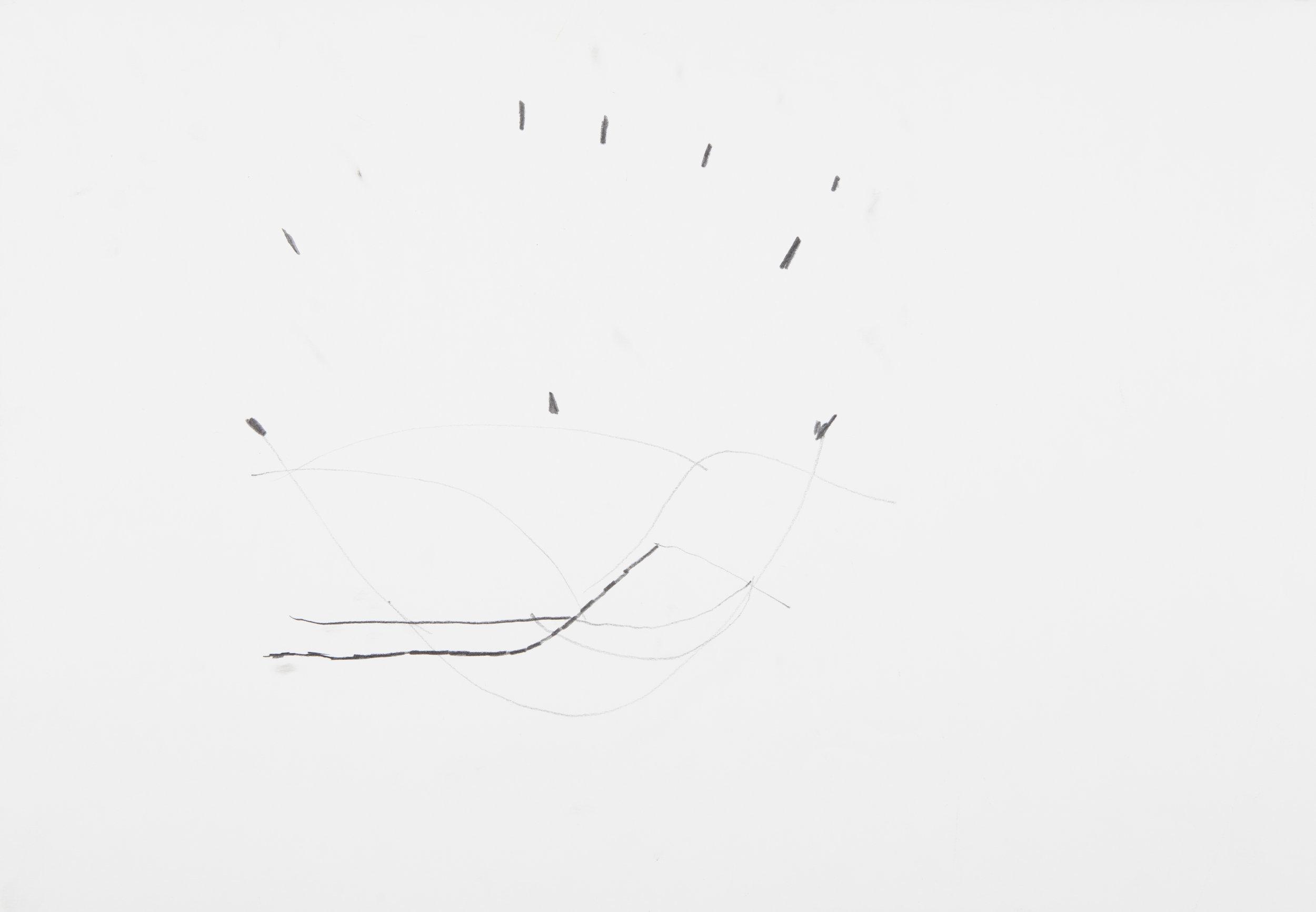 s.d. 3  pencil on paper,  35 x 50 cm