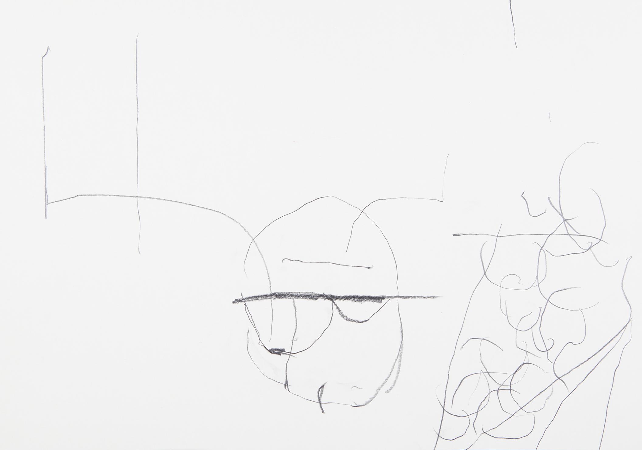 s.d. 6  pencil on paper,  35 x 50 cm