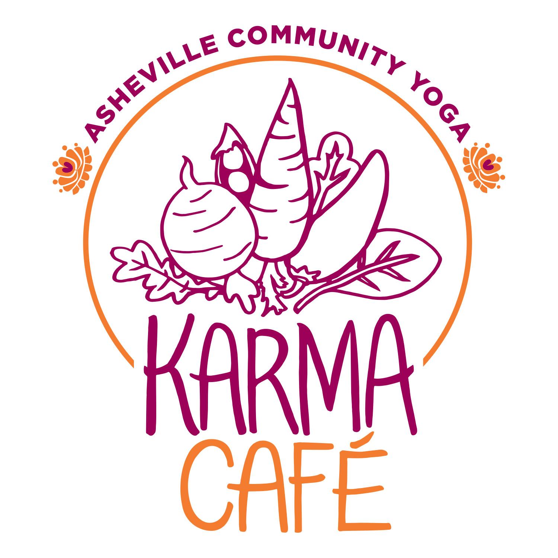 Karma Café logo.