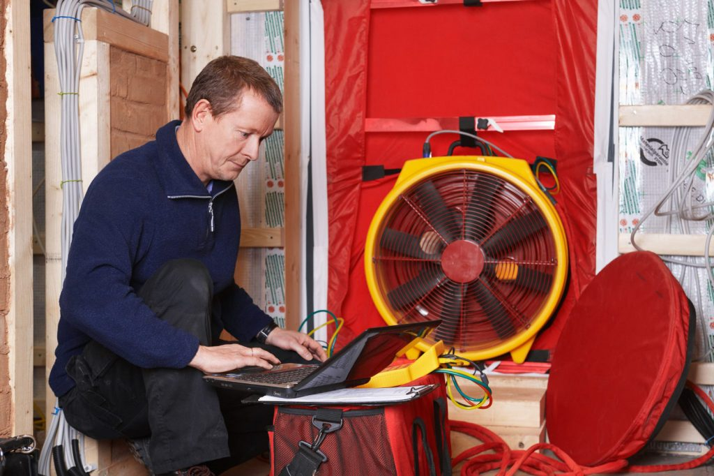 Air Tightness Tests - Air tightness testing for domestic and commercial builidngs