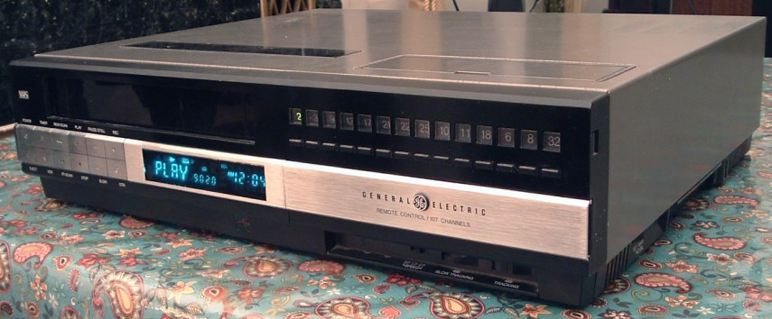 The GE 1VCR5010X that my family used for years (not the actual one).