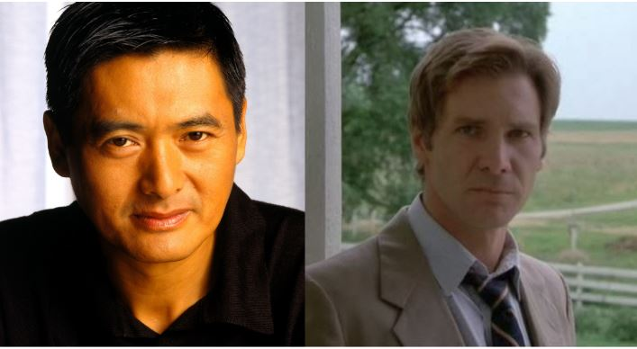Chow Yun-Fat and Harrison Ford