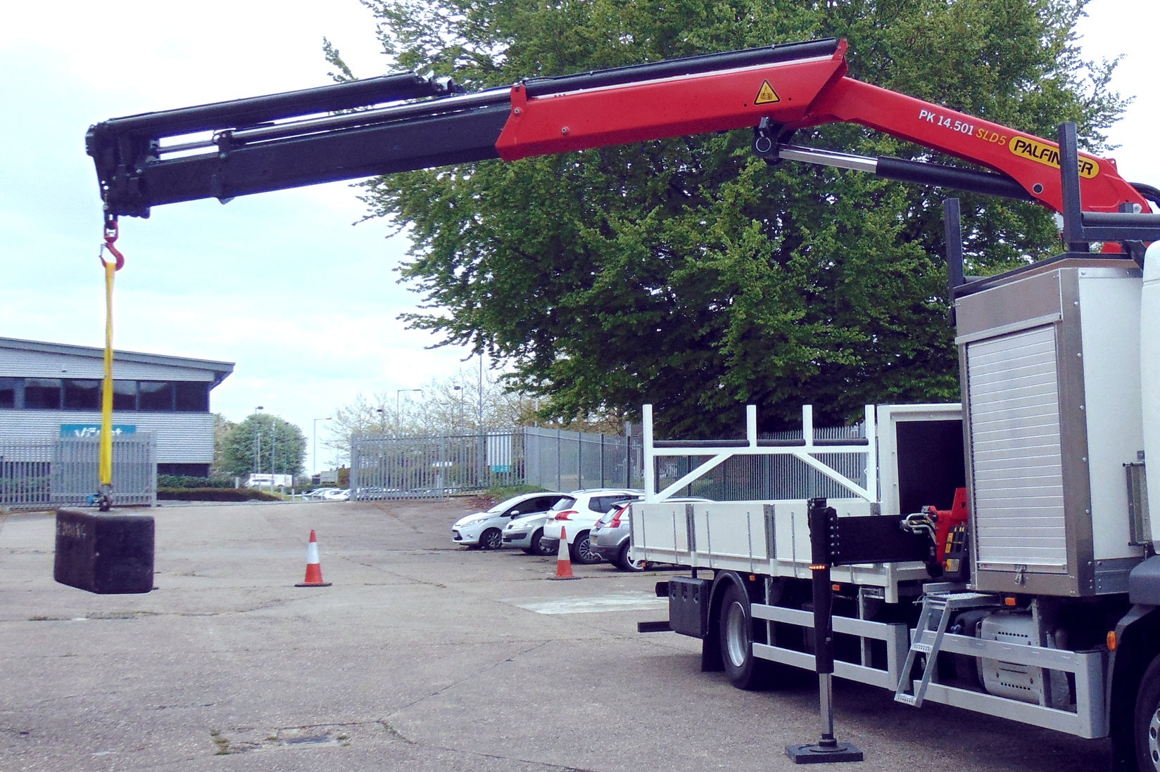 Loler inspections in London & South East (services across all types of lorry loader brands - Hiab, Palfinger, Fassi, PM, Atlas, HMF, Hyva; skip & hook loader)